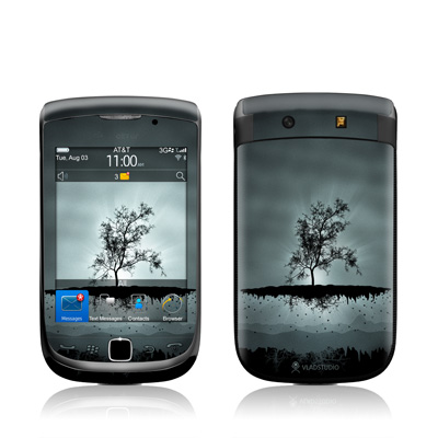 BlackBerry Torch Skin - Flying Tree Black