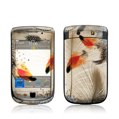 BlackBerry Torch Skin - Feather Dance