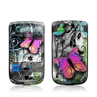 BlackBerry Torch Skin - Goth Forest