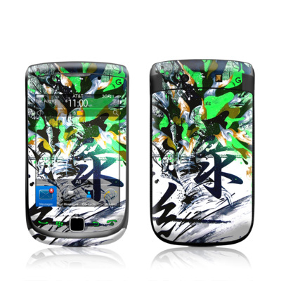 BlackBerry Torch Skin - Green 1