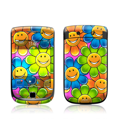 BlackBerry Torch Skin - Happy Daisies