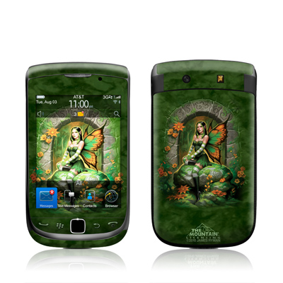 BlackBerry Torch Skin - Jade Fairy
