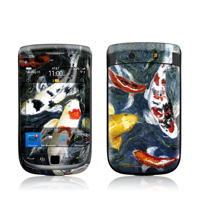 BlackBerry Torch Skin - Koi's Happiness