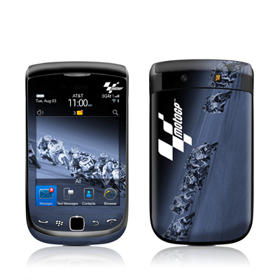 BlackBerry Torch Skin - Leaning