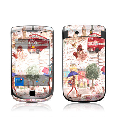 BlackBerry Torch Skin - London
