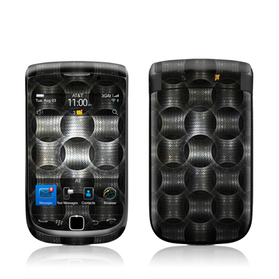 BlackBerry Torch Skin - Metallic Weave