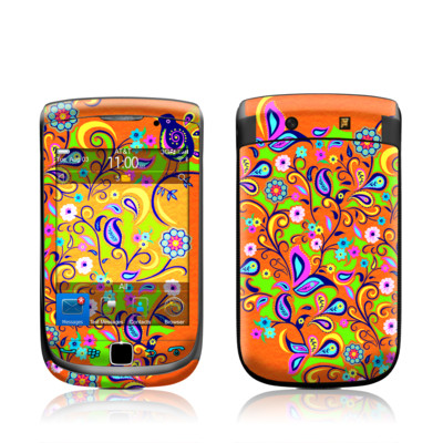 BlackBerry Torch Skin - Orange Squirt