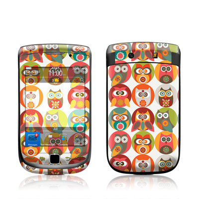 BlackBerry Torch Skin - Owls Family