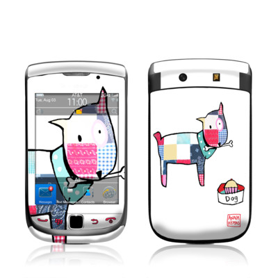 BlackBerry Torch Skin - Patch Dog