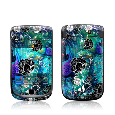 BlackBerry Torch Skin - Peacock Garden