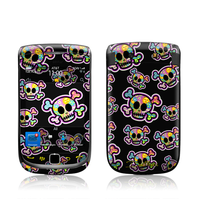 BlackBerry Torch Skin - Peace Skulls