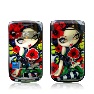 BlackBerry Torch Skin - Poppy Magic