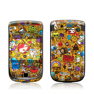 BlackBerry Torch Skin - Psychedelic