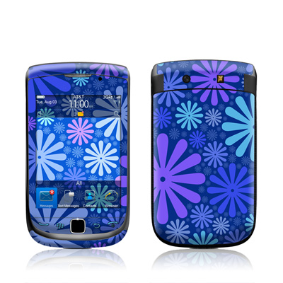 BlackBerry Torch Skin - Indigo Punch