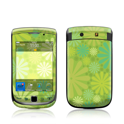 BlackBerry Torch Skin - Lime Punch