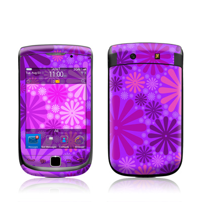 BlackBerry Torch Skin - Purple Punch