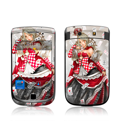 BlackBerry Torch Skin - Queen Of Cards