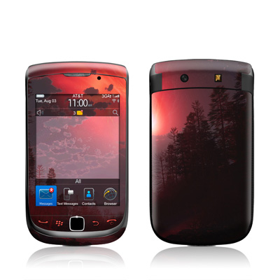 BlackBerry Torch Skin - Red Harbinger