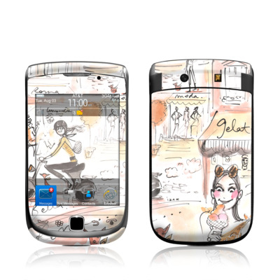 BlackBerry Torch Skin - Rome Scene