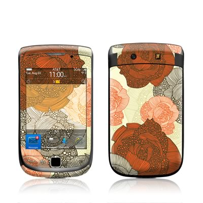 BlackBerry Torch Skin - Roses