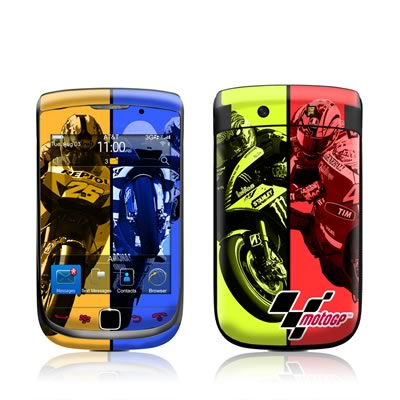 BlackBerry Torch Skin - Race Panels
