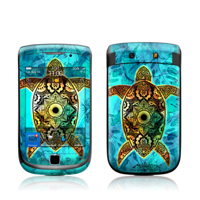 BlackBerry Torch Skin - Sacred Honu