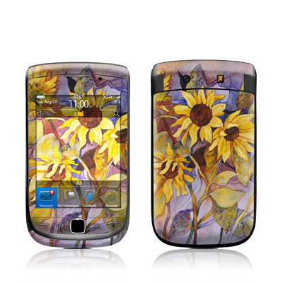 BlackBerry Torch Skin - Sunflower