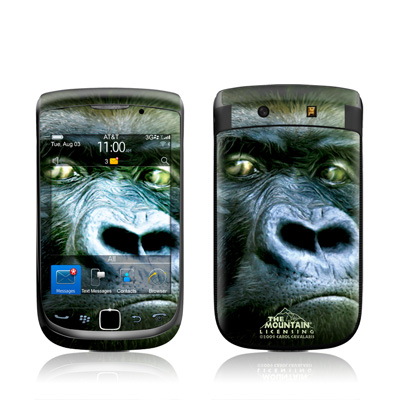 BlackBerry Torch Skin - Silverback