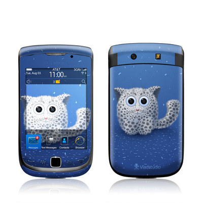 BlackBerry Torch Skin - Snow Leopard