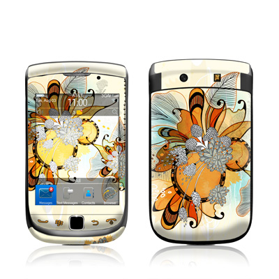 BlackBerry Torch Skin - Sunset Flowers