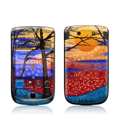 BlackBerry Torch Skin - Sunset Moon
