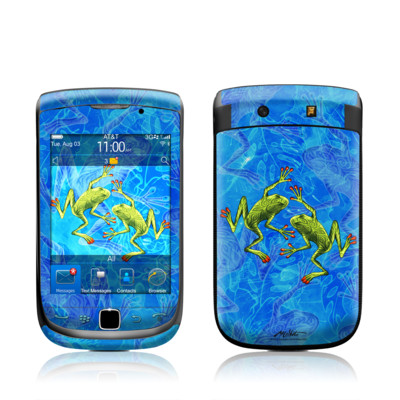 BlackBerry Torch Skin - Tiger Frogs