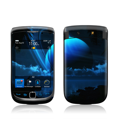 BlackBerry Torch Skin - Tropical Moon