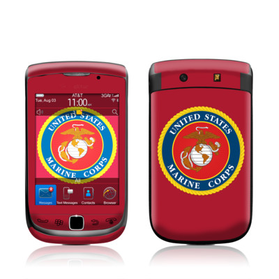 BlackBerry Torch Skin - USMC Red