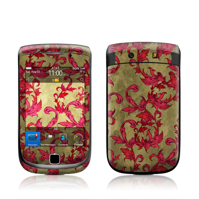 BlackBerry Torch Skin - Vintage Scarlet