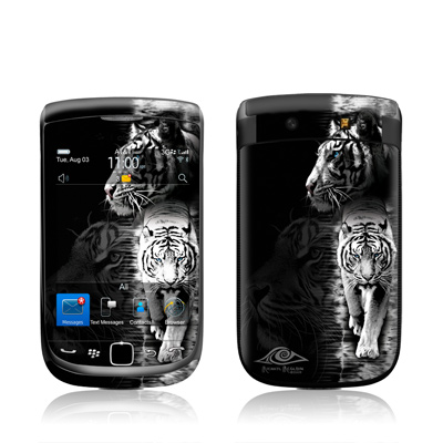 BlackBerry Torch Skin - White Tiger