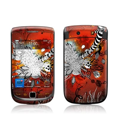 BlackBerry Torch Skin - Wild Lilly