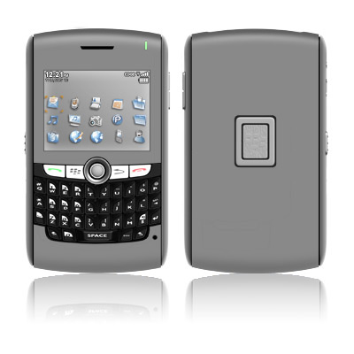 BlackBerry 8800 Series Skin - Solid State Grey