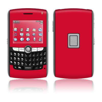 BlackBerry 8800 Series Skin - Solid State Red