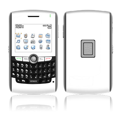 BlackBerry 8800 Series Skin - Solid State White