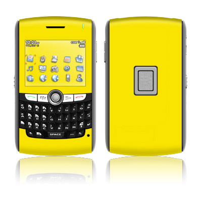 BlackBerry 8800 Series Skin - Solid State Yellow