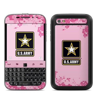 BlackBerry Classic Skin - Army Pink