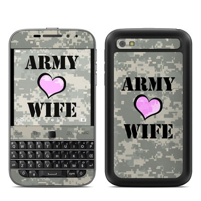 BlackBerry Classic Skin - Army Wife