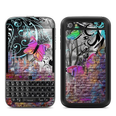 BlackBerry Classic Skin - Butterfly Wall