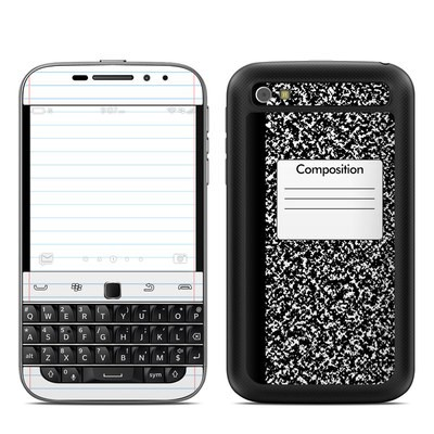 BlackBerry Classic Skin - Composition Notebook
