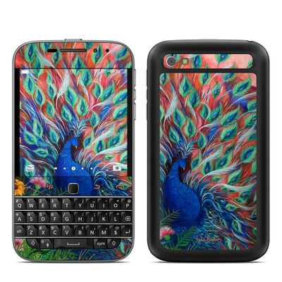 BlackBerry Classic Skin - Coral Peacock