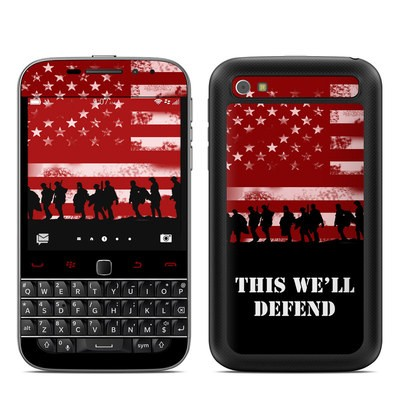 BlackBerry Classic Skin - Defend