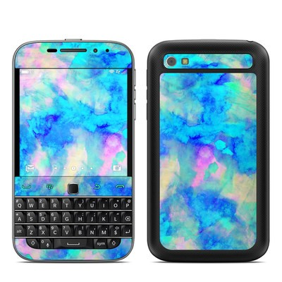 BlackBerry Classic Skin - Electrify Ice Blue