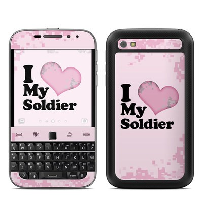 BlackBerry Classic Skin - I Love My Soldier