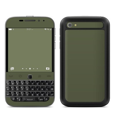 BlackBerry Classic Skin - Solid State Olive Drab